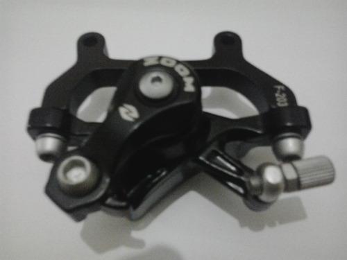pinça dianteira freio à disco marca zoom c/ adaptador 203mm