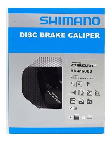 pinça freio hidráulico shimano deore m6000 m615 und