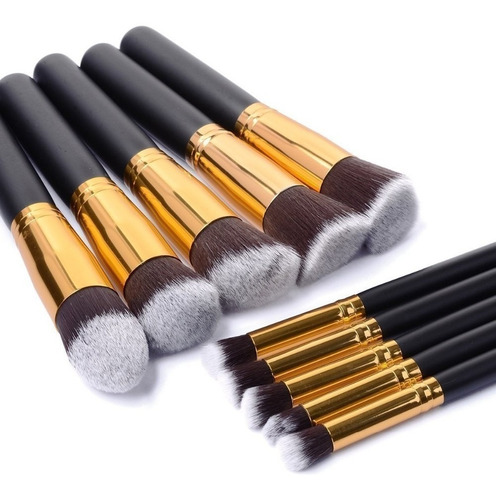 pinceis maquiagem kit 30 peças profissional precisao kabuki