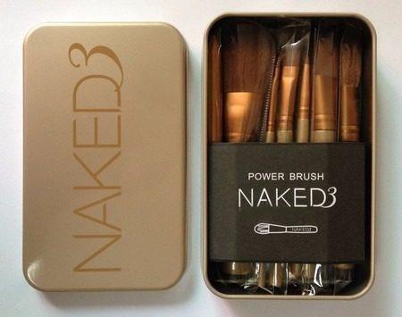 pincéis maquiagem naked