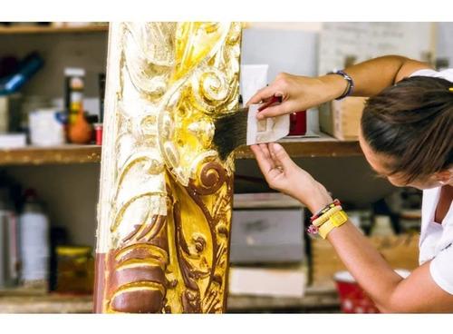 pincel aplicador mack brush pelenesa p/ folha de ouro