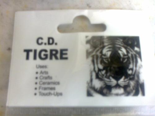 pincel artistico tigre