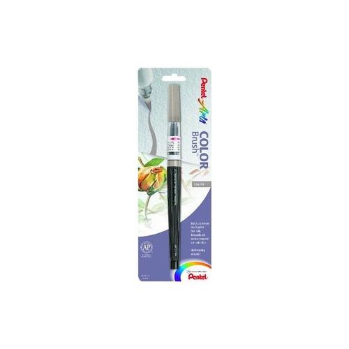 pincel de color pentel arts, gris, paquete de 1 (gflbp137)