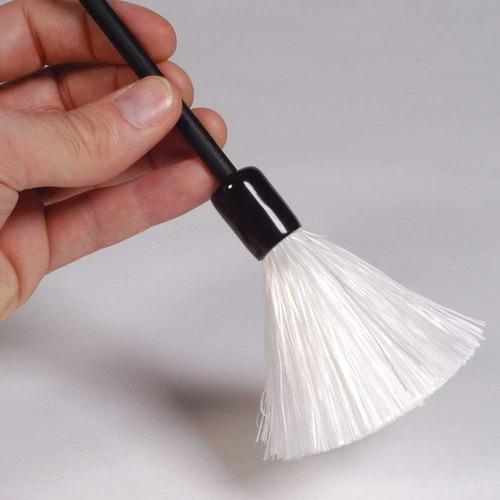 pincel de fibras de vidrio para huellas latentes