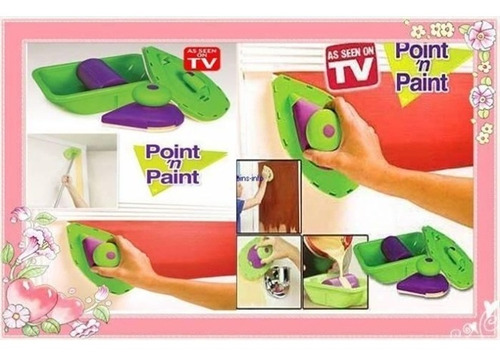 pincel paredes inteligente rolo fast pintar facil igual tv