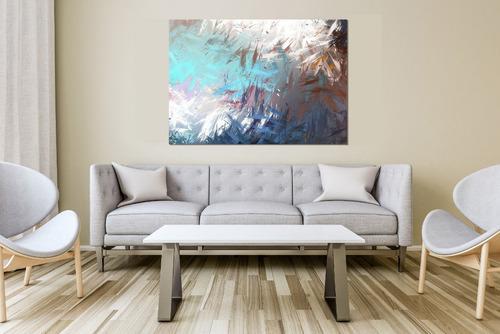 pinceles abstracto  ch, lienzo canvas cuadro decorativo