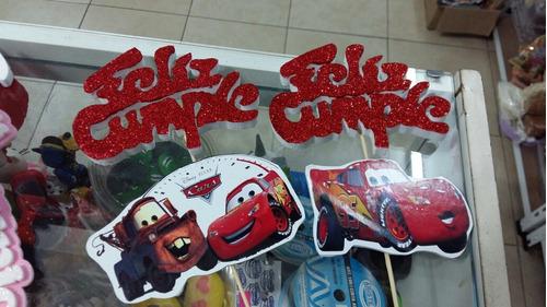 pinche feliz cumple para torta de cars
