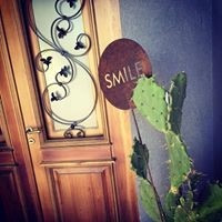 pinche o tutor para jardín en chapa calada oxidada smile