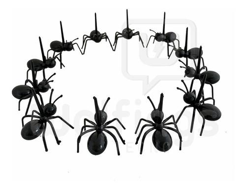 pinches palitos picada forma de hormigas copetin x12 coctel