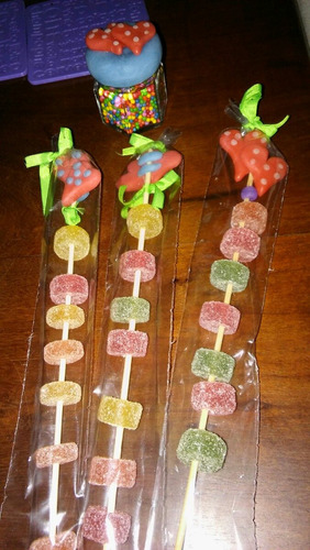 pinches para candy bar.