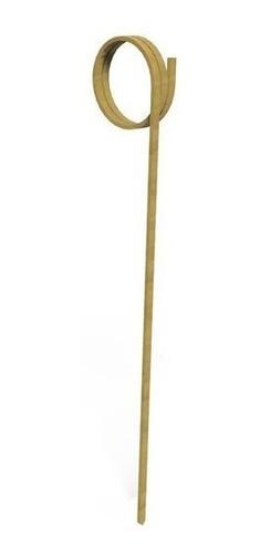 pinchos de bambu para finger food - 12cm rulo - pack x100u