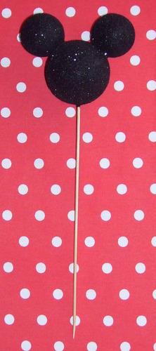 pinchos mickey ideal souvenirs -topiarios- centro de mesa