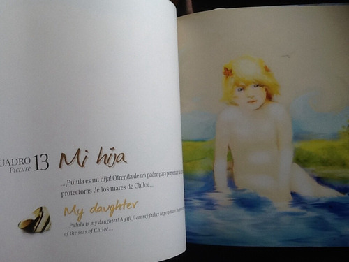 pincoya princesa mares chiloé miguel jiménez - ilustraciones