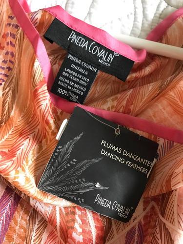 pineda covalin blusa-tunica 100%seda mascada bufanda pashmin