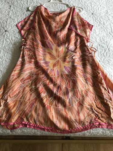 pineda covalin blusa/ vestido 100% seda mascada, pashmin
