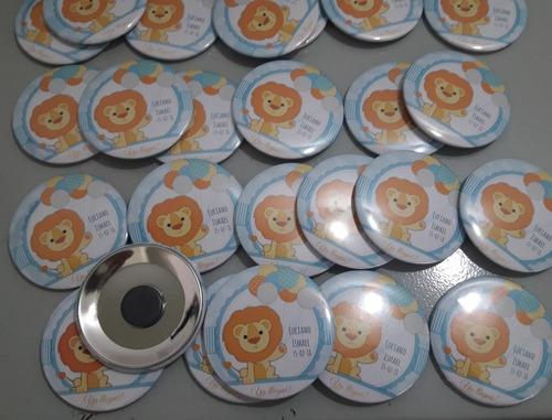 pines personalizados, imán x 10u 55mm souvenir