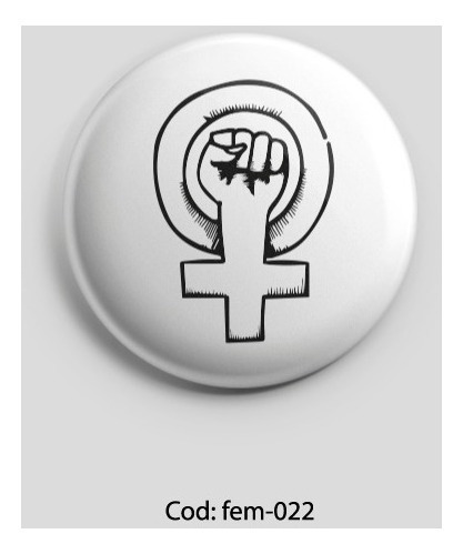 pines prendedores 10 unidades - feministas - girl power