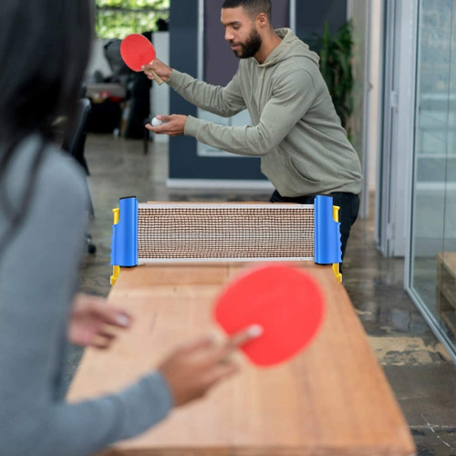ping pong red
