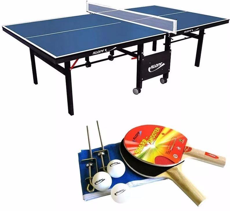 b65d4b3e1 Ping Pong Tenis Mesa Paredão 1084 + Kit Raquetes Rede 5030 - R  846 ...