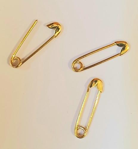 pingente alfinete em ouro 18k   abre e fecha frete grátis