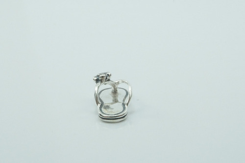 pingente chinelo (m) prata 925