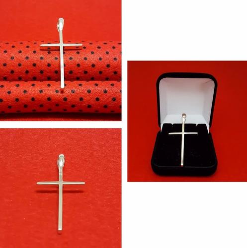 pingente crucifixo prata lei 925 maciça masculino feminino