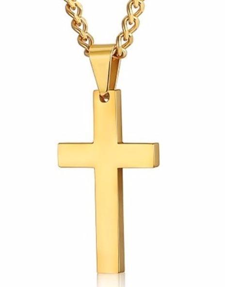 cf46908ff9531 Pingente Cruz Crucifixo Ouro Maciço 18k (750) - 3 Gramas - R  659 ...