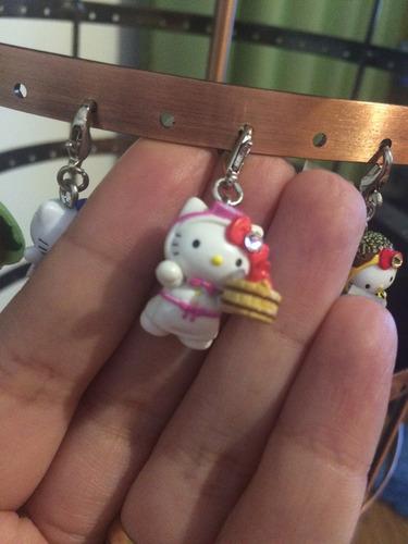 pingente de celular hello kitty mergulhadora - sanrio