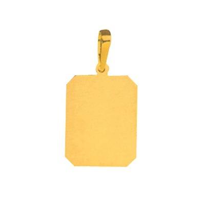 pingente de folheado a ouro com foto gravada / fotogravação
