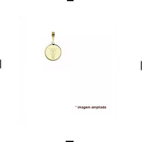 pingente de ouro 18 quilates - ciências contábeis nome verso