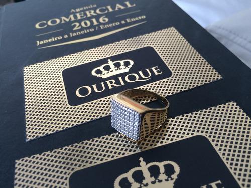 pingente de ouro 18k 750 maciço pirâmide personalizado