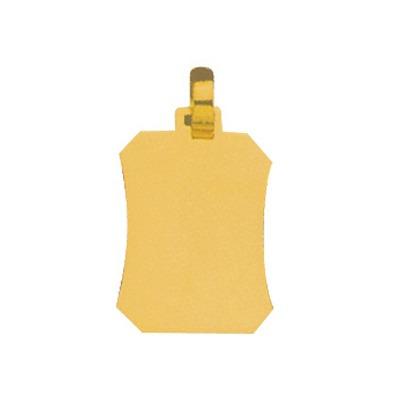 pingente de ouro amarelo com foto gravada / fotogravação 15