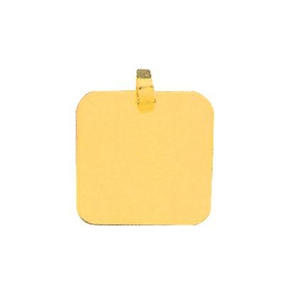 pingente de ouro com foto gravada / fotogravação 16.4mm x 1