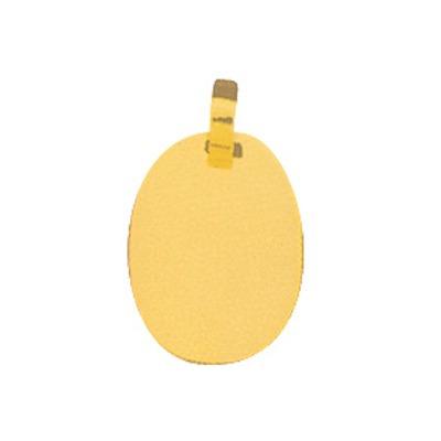 pingente de ouro com foto gravada / fotogravação 19 mm x 14