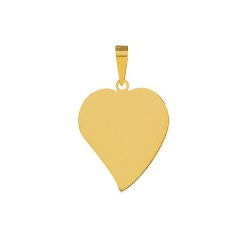pingente de ouro com foto gravada / fotogravação  31 mm x 2