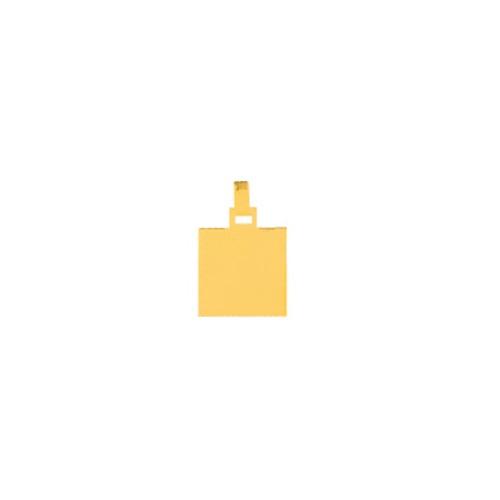 pingente de ouro com foto gravada / fotogravação  9.2 mm x