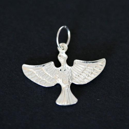 pingente de prata 925 espírito santo