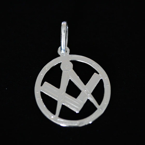 pingente de prata 925 símbolo engenharia