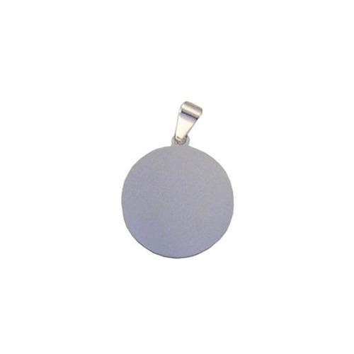 pingente de prata com foto gravada / fotogravação 15 mm / 1