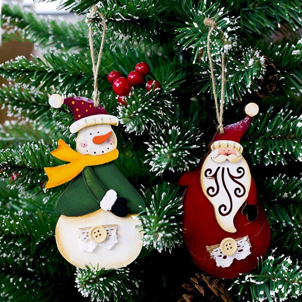 Pingente De Resina De Natal Desenhos Animados Natal Arvore D R