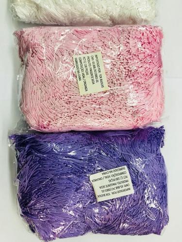 pingente de seda - tassel - várias cores - 100 unid