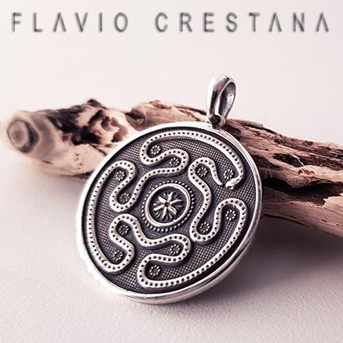 pingente deusa hecate labirinto prata 925 fp - 31063301