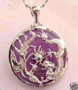 pingente dragão em jade