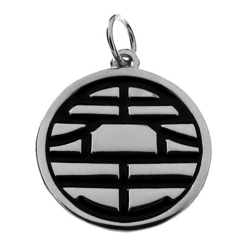 pingente em prata - goku - 1152