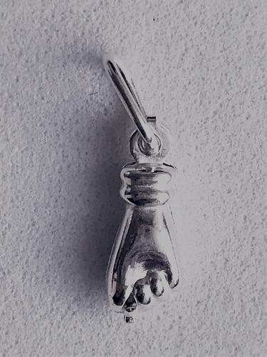 pingente figa pequena  prata 925 legítima garantia