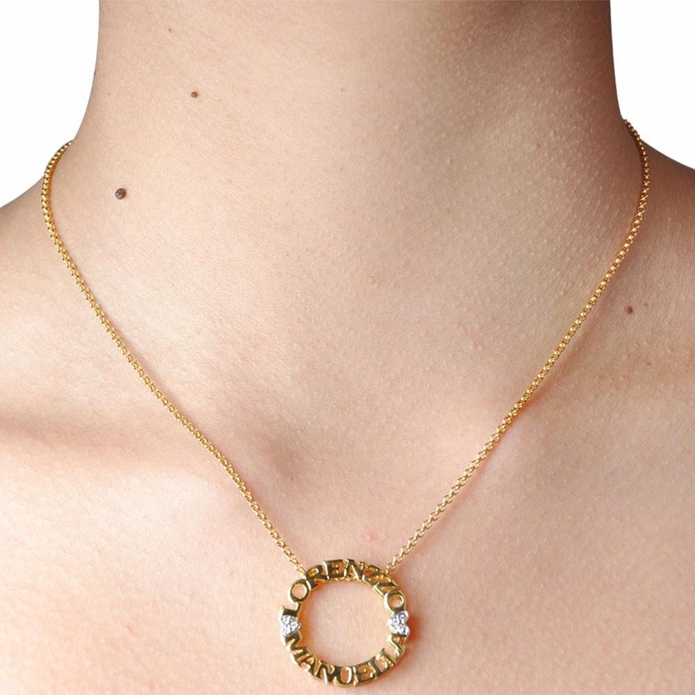 238eeea67cd1f pingente mandala ouro 18k personalizado promoção c  diamante. Carregando  zoom.