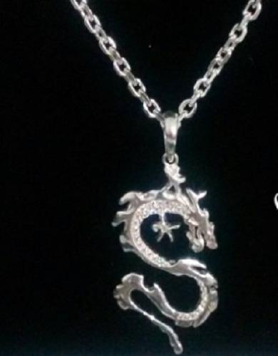 pingente masculino  dragão bali prata 925  frete gratis