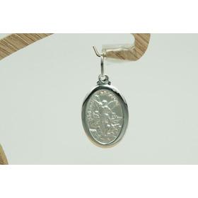 Pingente Medalha São Miguel Arcanjo (m3v) Prata 925