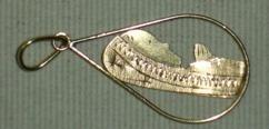 pingente nossa senhora ouro 18 k 750