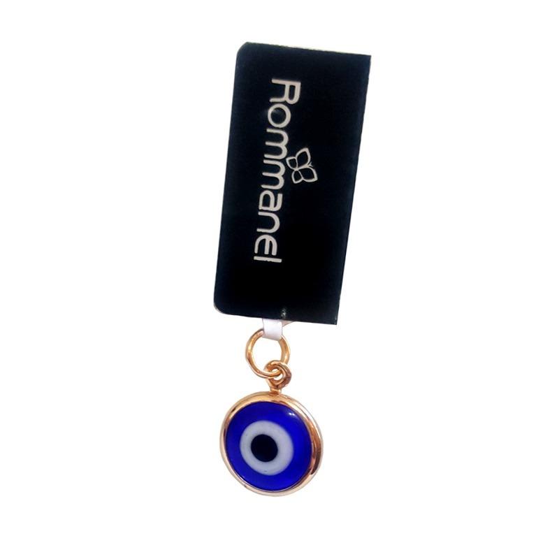fb7f5750d7447 pingente olho grego azul folheado ouro joia rommanel 541649. Carregando  zoom.